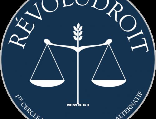 RÉVOLUDROIT : 1er Cercle de Réflexion de Droit Alternatif