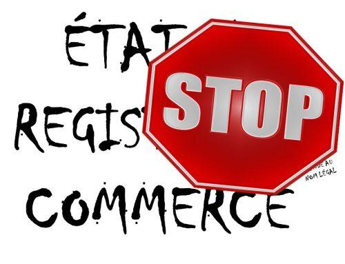 Éclaircissement juridique concernant l'inscription des États sur des registres du commerce