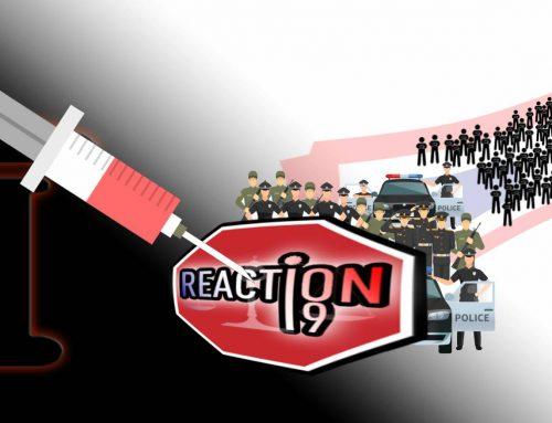 RÉACTION 19 contre attaque pour protéger les forces de l'ordre Françaises du vaccin obligatoire